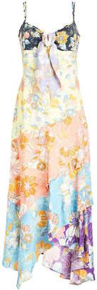 Peter Pilotto Printed Crepe Dress