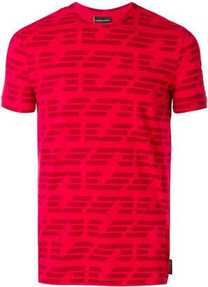 Emporio Armani print short-sleeve T-shirt