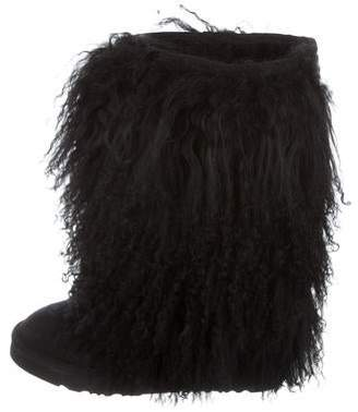 Australia Luxe Collective Shearling Knee-High Boots