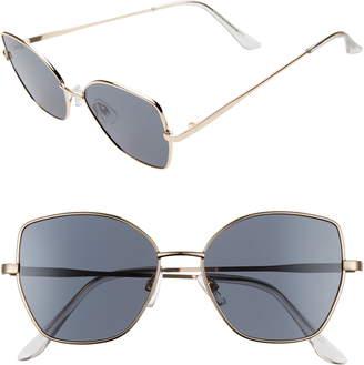 BP 55mm Butterfly Sunglasses