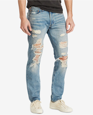 Denim & Supply Ralph Lauren Men's Prospect Slim Ripped Jeans $125 thestylecure.com
