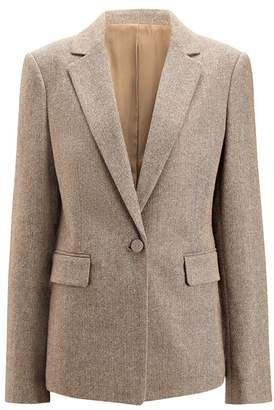 Joseph Prisca Herringbone Jacket