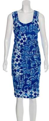 Tracy Reese Printed Sleeveless Dress