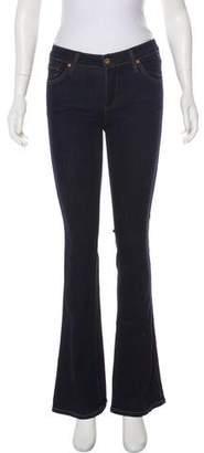 James Jeans Mid-Rise Wide-Leg Jeans