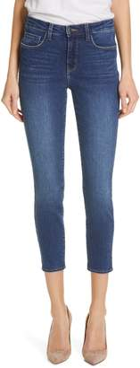L'Agence Margot Crop Skinny Jeans