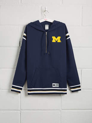 PINK University Of Michigan Anorak Half-Zip