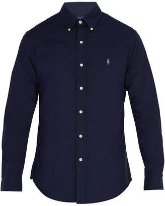 Polo Ralph Lauren Slim-fit cotton-poplin shirt