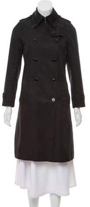 Burberry Double-Breasted Casual Coat
