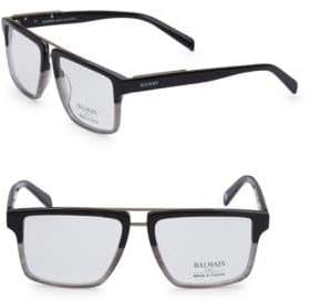 Balmain 59MM Square Two-Tone Eyeglasses