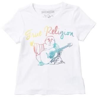 True Religion Rainbow Buddha Tee (Little Girls)