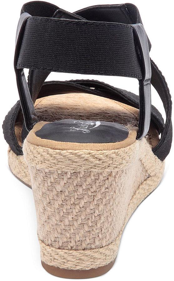Lucky Brand Women's Keane Platform Wedge Sandals