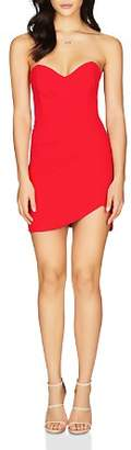Nookie Bisous Strapless Sweetheart Mini Dress