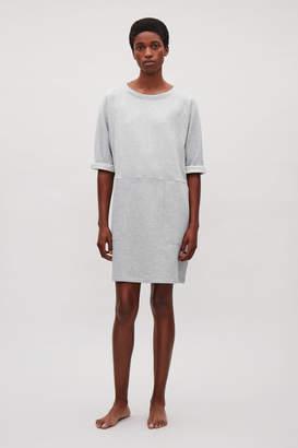 Cos PATCH-POCKET JERSEY DRESS