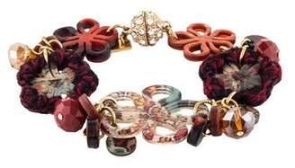 Etro Floral Charm Bracelet