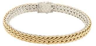John Hardy Two-Tone Classic Chain Reversible Bracelet
