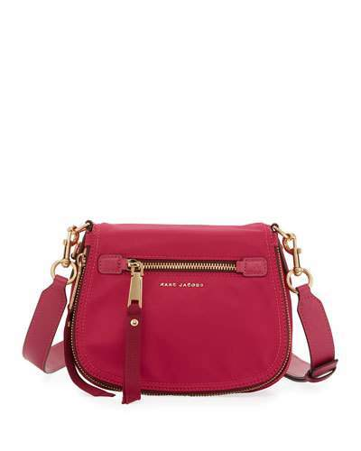 Marc Jacobs Marc Jacobs Trooper Nomad Small Nylon Saddle Bag, Hibiscus