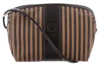 Fendi Vintage Pequin Crossbody Bag