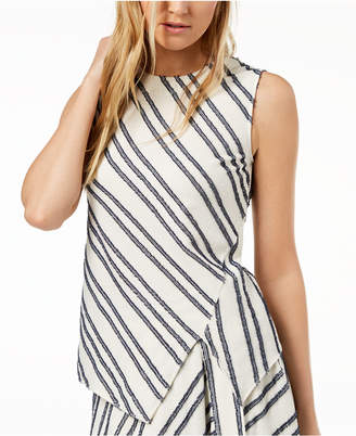 DKNY Sleeveless Asymmetrical Top, Created for Macy's