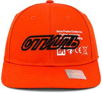 Heron Preston CTNMB Baseball Cap in Orange & Multi | FWRD