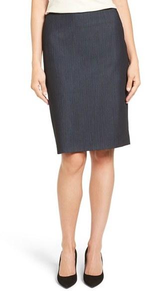 Anne KleinWomen's Anne Klein Stretch Woven Suit Skirt