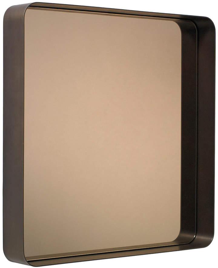ClassiCon - Cypris Spiegel 70 x 70, Messing brüniert / Parsolglas