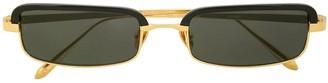 Linda Farrow rectangle shape sunglasses