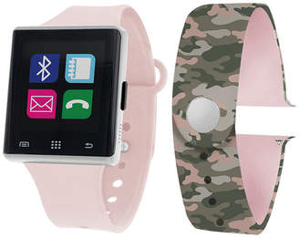 ITOUCH Itouch Air Interchangeable Band Set Pink / Camo Unisex Multicolor Smart Watch-Jcp2723s724-Blc