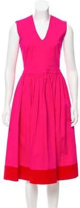 Preen Line A-Line Midi Dress