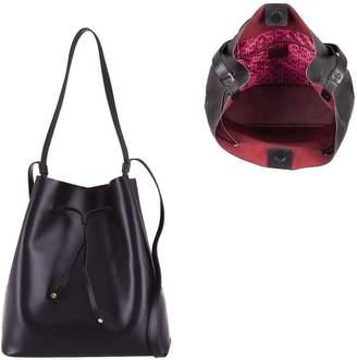 Lodis Italian Leather Large Drawstring Bag - Halina