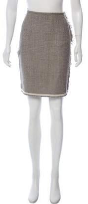 Lanvin 2014 Basketweave Skirt