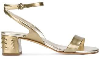 Tod's studded block heel sandals