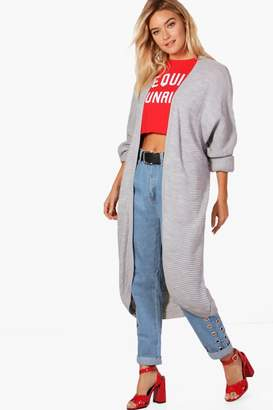 boohoo Lauren Maxi Oversized Batwing Cardigan