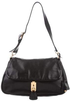 Prada Nappa Flap Bag