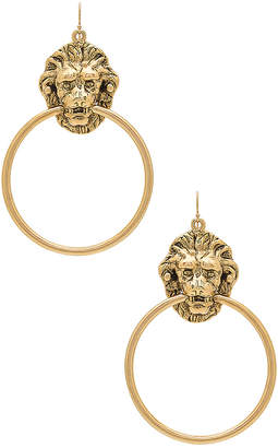 Vanessa Mooney Vandal Earrings in Metallic Gold. $64 thestylecure.com