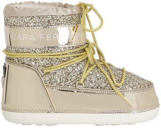 30mm Glitter Snow Boots $326 thestylecure.com