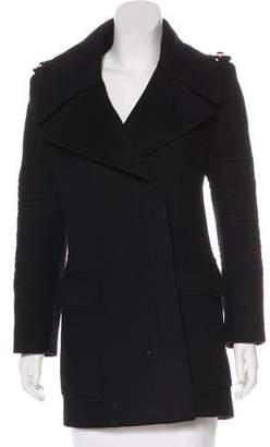 Gucci Wool & Cashmere Structured Coat