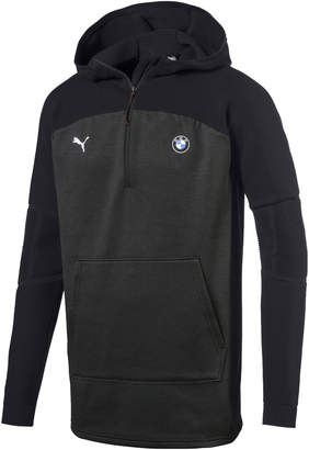 BMW MMS evoKNIT Quarter Zip Hooded Men's Pullover