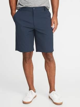 Old Navy Slim Go-Dry Performance Khaki Shorts for Men - 10 inch inseam