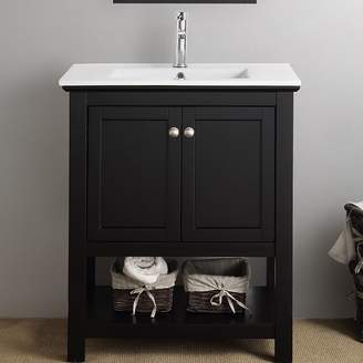 "Fresca Cambria Manchester 30"" Single Bathroom Vanity Set Base"