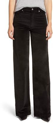 7 For All Mankind Alexa Wide Leg Jeans