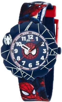 Flik Flak (フリック フラック) - [フリック フラック]FLIK FLAK キッズ腕時計 TREASURES & LISENCES(トレジャー&ライセンス) SPIDER-CYCLE(スパイダーサイクル) ZFLSP001 ボーイズ 【正規輸入品】
