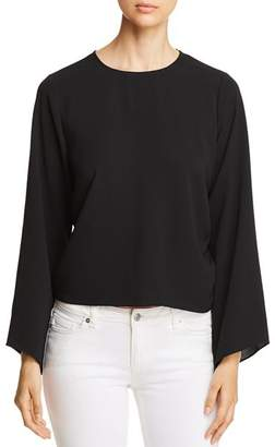 Vince Camuto Side Drawstring Bell-Sleeve Top - 100% Exclusive