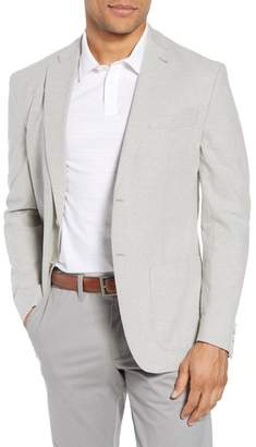 JKT NEW YORK Trent Trim Fit Stretch Cotton & Linen Blazer