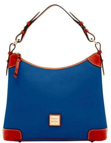Dooney & Bourke Pebble Grain Hobo Shoulder Bag - OCEAN - STYLE