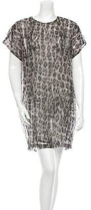 Christian Wijnants Leopard Print Dress w/ Tags
