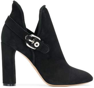 Casadei buckled ankle boots
