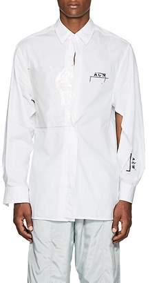 A-Cold-Wall* Men's Cotton Poplin Deconstructed Shirt
