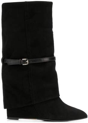 The Seller foldover top boots