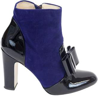 Bionda Castana Navy Suede Ankle boots