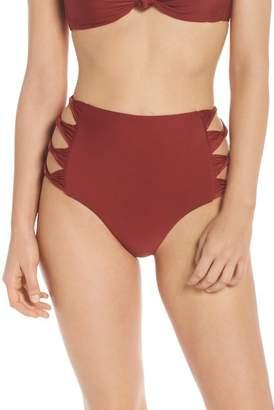 BCA Love Letters High Waist Bikini Bottoms